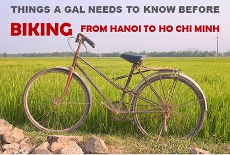 Biking from Hanoi to Ho Chi Minh City
