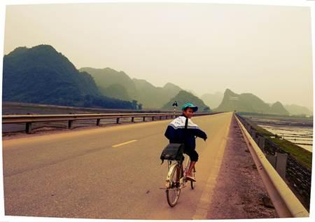 Vietnam Local Biker