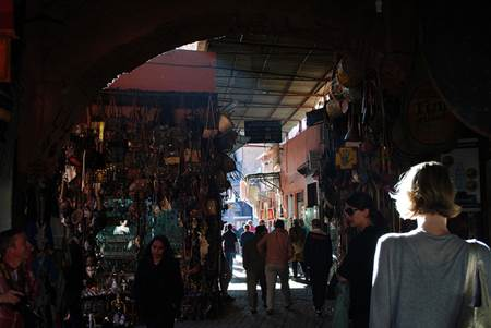 Women in Marrakech Souks