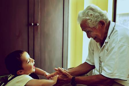 Grandfather and Boy