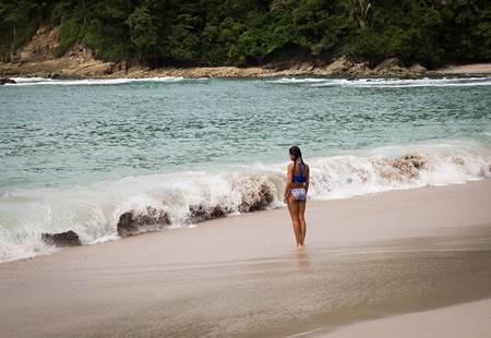 Woman in Puntarenas