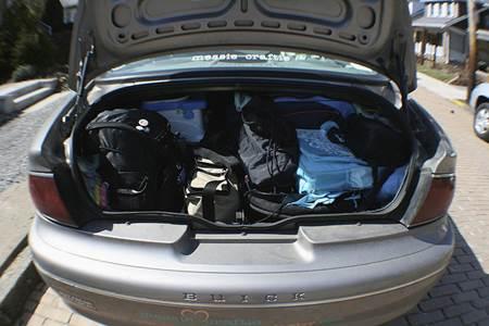 Packing for Roadtrip