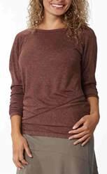 Mission Knit LS Shirt_Merlot