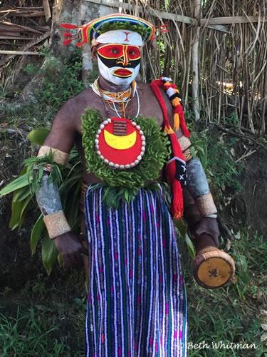 Papua New Guinea Paiya Man