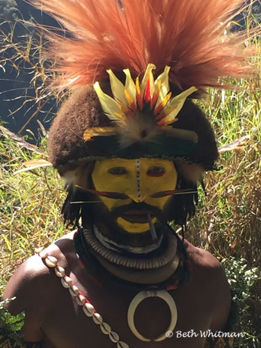 Papua New Guinea Paiya Mini Singsing