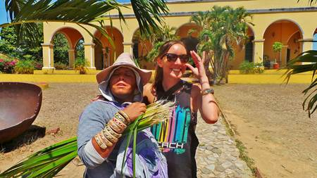 Tourist with Local