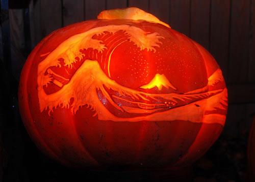 Halloween Pumpkin Fuji