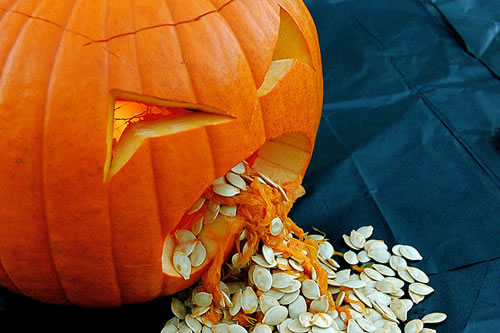 Halloween Pumpkin Seeds