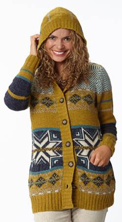 This Month Win a Mystic Cardi Sweater from Royal Robbins