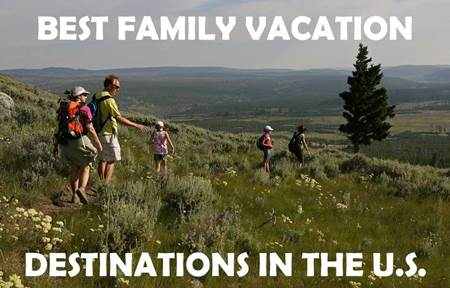 Yellowstone National Park Family Vacation