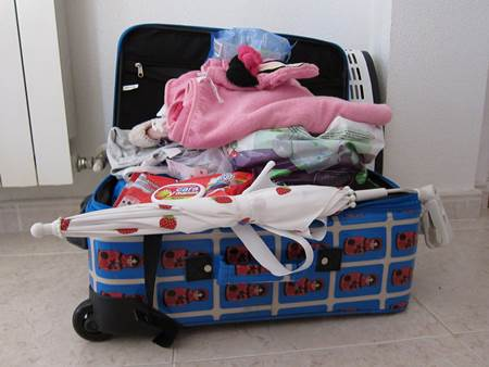 Little Girl Luggage