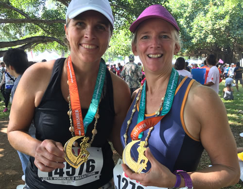Completing the Honolulu Marathon