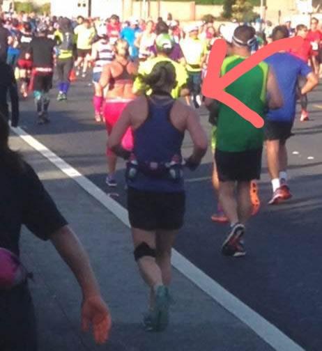 Beth Whitman Honolulu Marathon