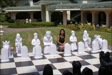 Goa Outdoor Chess Board