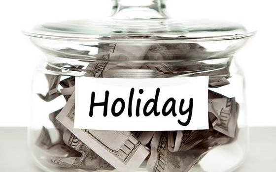 Holiday Money Jar