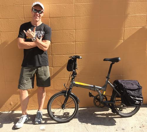 Jon on Bike