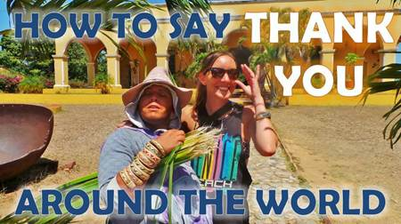 How to Say Thank You around the World