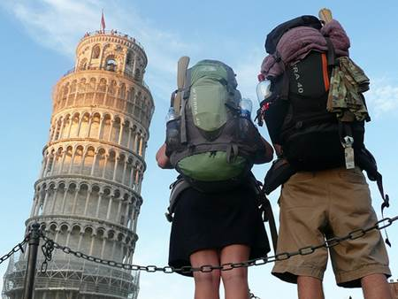 Backpacking in Europe