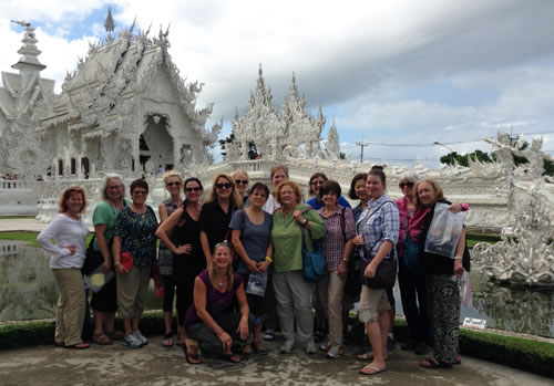 WanderTours White Temple Thailand