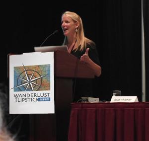 Beth Whitman speaking