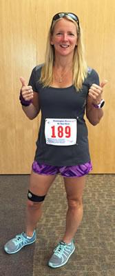 Beth Whitman running