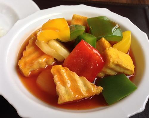 Tofu Dish Thailand
