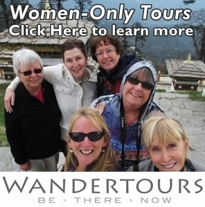 women only tours