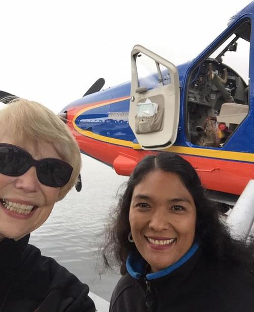 Mona and Burmese guide