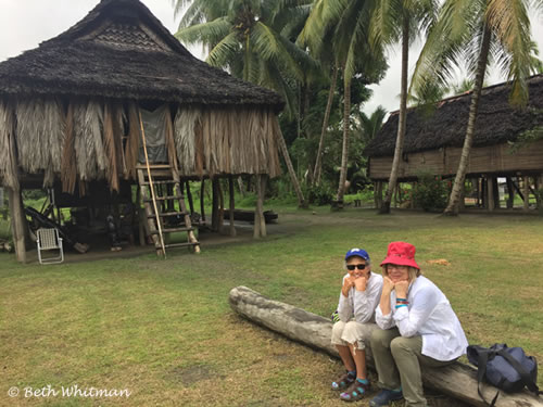 Sepik River guest house