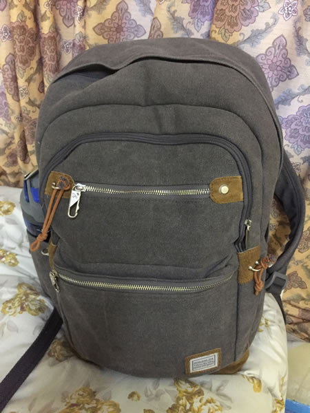 travelon backpack full