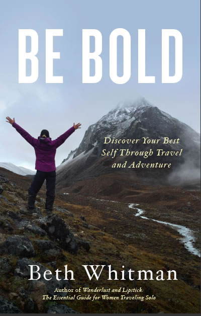 be bold book cover Beth Whitman