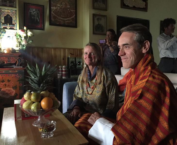 beth jon Bhutan wedding