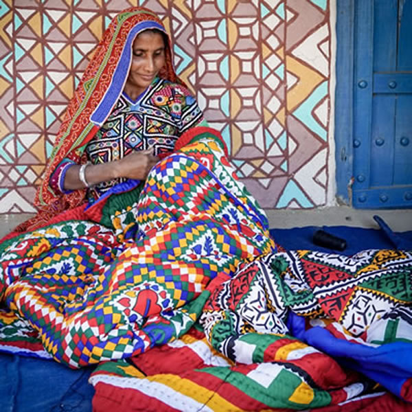 Gujarat Textiles and Tribes